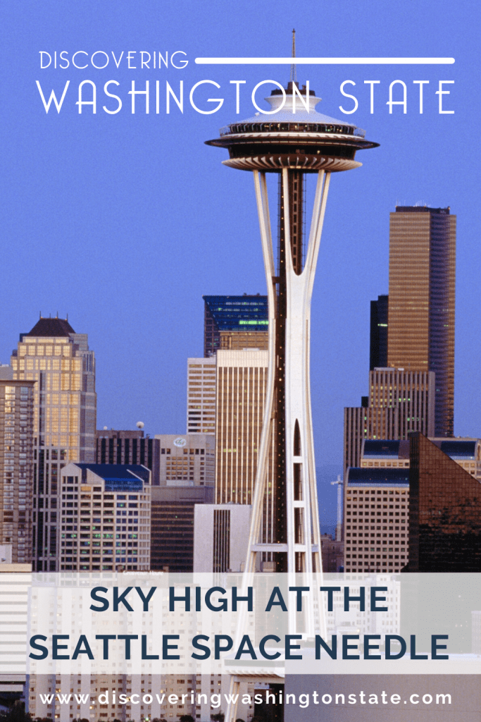 A trip to Seattle wouldn't be complete without a visit to the Seattle Space Needle. Get the info here. #spaceneedle #seattle #pnw #discoverwashingtonstate #washingtonstate